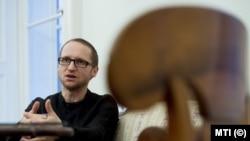 Сцилард Деметер, директор литературного музея Петефи в Будапеште