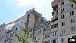 The explosion destroyed 18 apartments and damaged seven others on May 12.