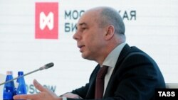 Рускиот министер за финансии Антон Силуанов.