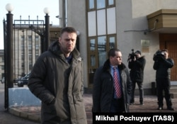 Алексей Навальный и Вадим Кобзев