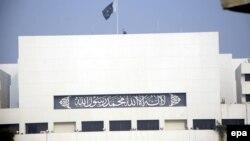 Pamje e ndërtesës së Parlamentit të Pakistanit në Islamabad