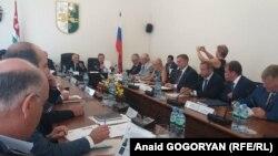 Российские сенаторы обсудили с абхазскими депутатами планы дальнейшей совместной работы