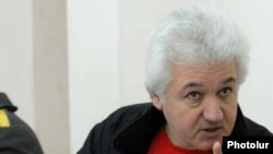 Armenia -- Sarkis Hatspanian, a French-Armenian opposition activist, on trial in March 2009.