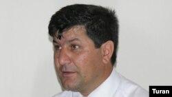 Azerbaijan – Zeynalli, Evez, editor-in-chief of Khural newspaper, Baku, undated