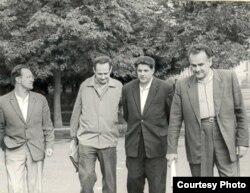 Алесь Адамовіч, Іван Мележ, Іван Навуменка, Янка Брыль, 1960-я