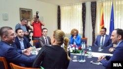 Pamje nga një takim i mëhershëm i liderëve në Maqedoni