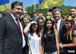 Порошенко і Саакашвілі. 2015 рік