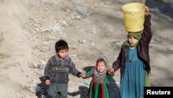 اطفال افغان