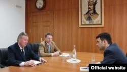 La întîlnirea cu primul ministru Chiril Gaburici
