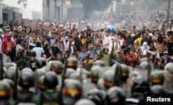 Марш оппозиции в Каракасе