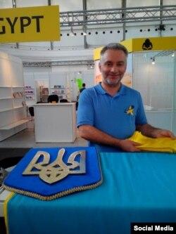 Юрій Ключівський, один з організаторів експозиції «Український дім»