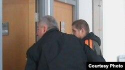 Tihomir Purda ulazi u sudnicu Suda BiH, siječanj 2011