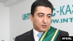 Данияр Шәбдікәрімов, «Әлем-Арт» қоғамдық қорының президенті. Алматы, 10 маусым 2009 ж.