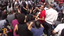Armenian Police Clear Protest Camp