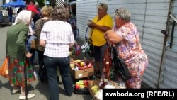 Сала і каўбасы з Украіны