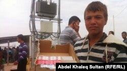 فتى سوري في مخيم دوميز (دهوك)