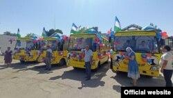 Мобильные детсады на базе автобусов, получившие название «Аклвой».