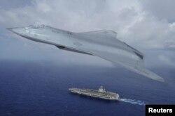 Американский истребитель 6-го поколения, разрабатываемый корпорацией Northrop Grumman