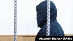 Олег Медведев в зале суда