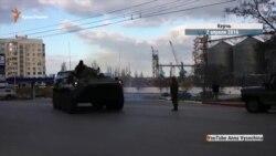 Росія стягує військову техніку до Криму