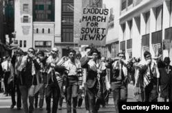 Марш для советских евреев в Нью-Йорке. Апрель, 1970 г.