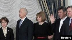 Джо Байден на встрече с российской оппозицией