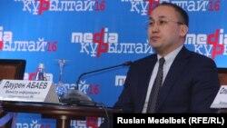 Дәурен Абаев, ақпарат және коммуникация министрі