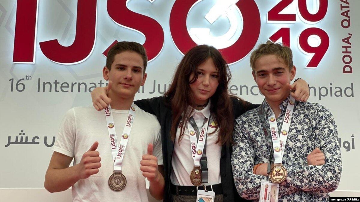 МОН: украинские школьники завоевали три «бронзы» на международной научной олимпиаде