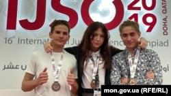 Учасники української команди завоювали три бронзові медалі (автор фото – Мала академія наук України)