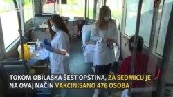 Crna Gora: Vakcinacija na kućnom pragu