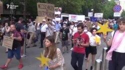 """""""Спрете да храните мафията"""". Протест пред посолството на Германия"""
