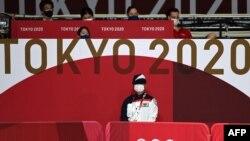 Комплекс, в котором проводятся соревнования по настольному теннису на Олимпийских играх в Токио, 23 июля 2021 года