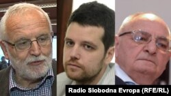 Jože Mencinger, Filip Balunović i Dimitrije Boarov