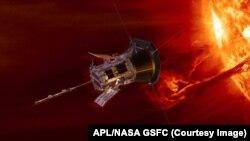 Parker Solar Probe. Иллюстрация