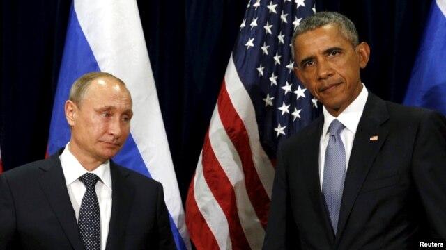Президенти Росії та США Володимир Путін та Барак Обама (фото архівне)