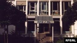 Sediul Europei Libere de la Munchen, imagine de arhivă