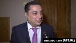 Руководитель парламентской фракции РПА Ваграм Багдасарян