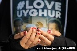 Протесты против притеснений уйгуров в КНР прошли в конце декабря 2018 года во многих исламских странах, в том числе в Индонезии