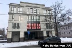 Здание в Петербурге, где находилось Агентство интернет-исследований, которое вело операции в американских социальных сетях