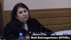 Судья Таисия Мирзоян. Астана, 18 тамыз 2015 жыл.