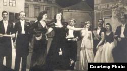 Imagine din filmul lui Radu Gabrea despre Teatrul Barașeum