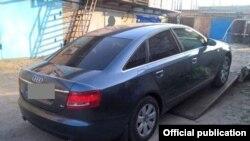Авто, на котором ехал пропавший без вести и убитый водитель BlaBlaCar Тарас Позняков