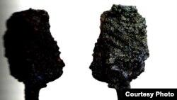 ბალასტის ისარი, წინა და უკანა მხარე. საქართველოს ეროვნული მუზეუმი. ფოტო: მამუკა წურწუმია
