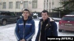 Алим Муслядинов и Абляким Аблякимов