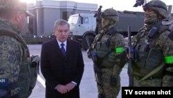 Шавкат Мирзияев посетил здание Службы государственной безопасности