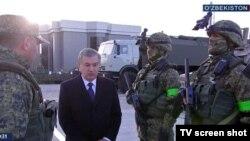 Шавкат Мирзияев посетил здание Службы государственной безопасности.