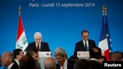 Париждеги эл аралык жыйын. 15-сентябрь, 2014-жыл.