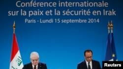 """Президенты Франции и Ирака открывают конференцию по борьбе с террористами """"Исламского государства"""""""