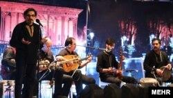 کنسرت سال گذشته شهرام ناظری در اصفهان