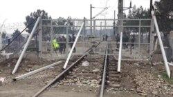 Pusto sa makedonske strane granice